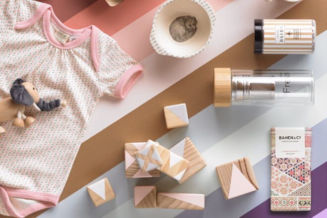 Young Willow curated baby gift boxes