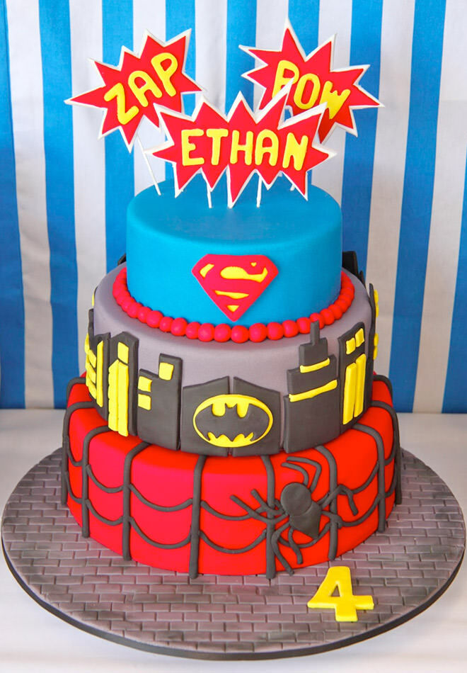 CAKESPIRATION: 13 superhero cakes for the ultimate party! | Mum's ...