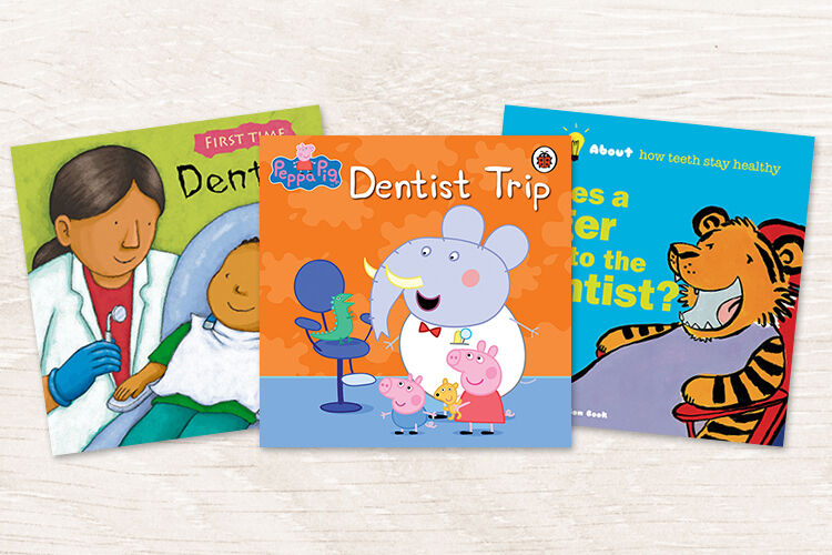 13 books about going to the dentist