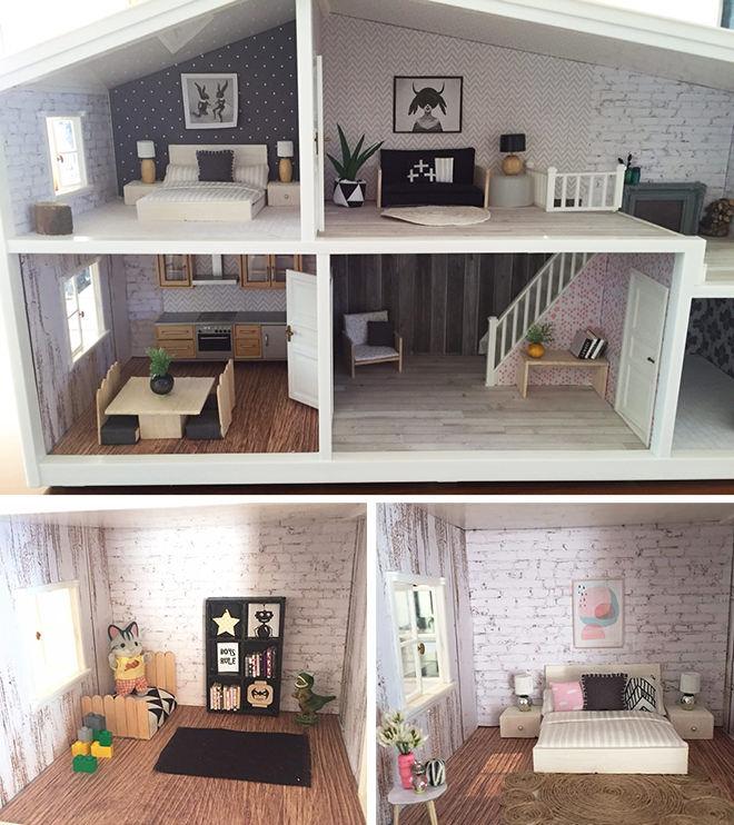 How to do a DIY Dolls House Reno.