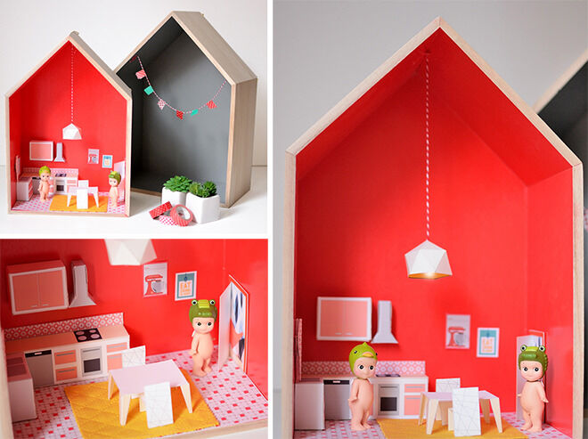 House shelves - how to DIY a Dolls House