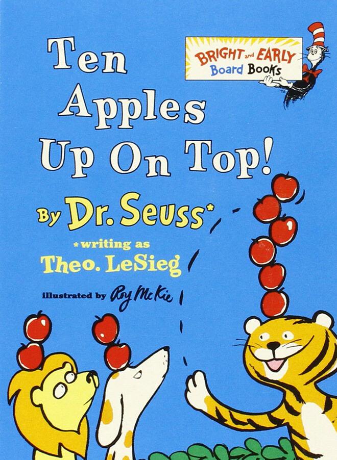 Fun books written by Dr Seuss as Theo. LeSieg