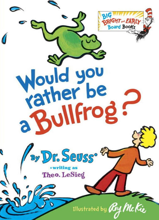 Fun Dr Seuss Books written as Theo. LeSieg