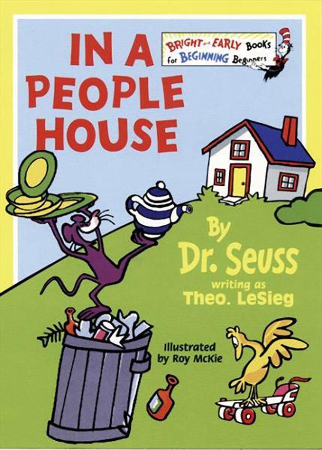 Fun books by Dr. Seuss written as Theo. LeSieg