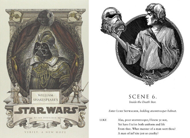 if Shakespeare wrote Star Wars