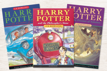 Early edition Harry Potter books