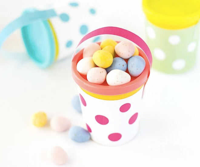 30 Superb Last Minute Easy Easter Crafts For Your Decor: 31 Easy Easter Baskets To Make At Home