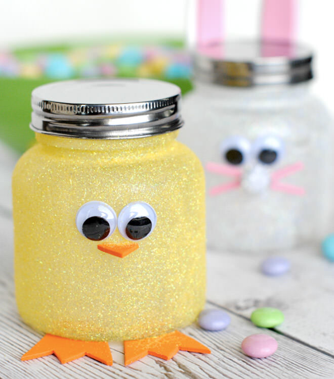 30 Superb Last Minute Easy Easter Crafts For Your Decor: 31 DIY Easter Baskets For Your Little Bunnies