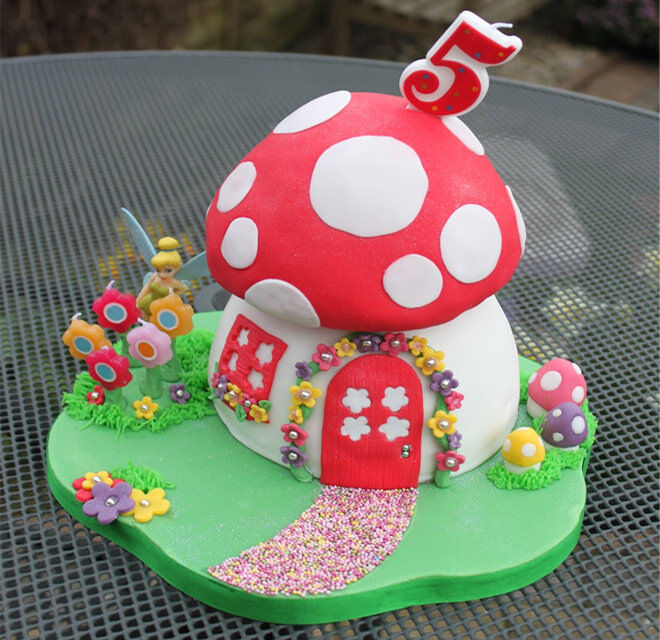 Fairy Birthday Cake House