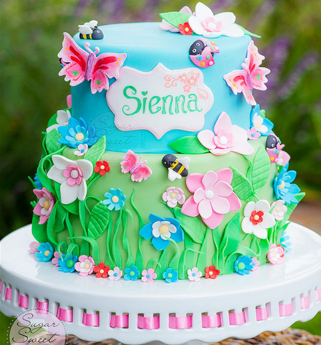 Fairy-Birthday-Cake-Floral-Garden