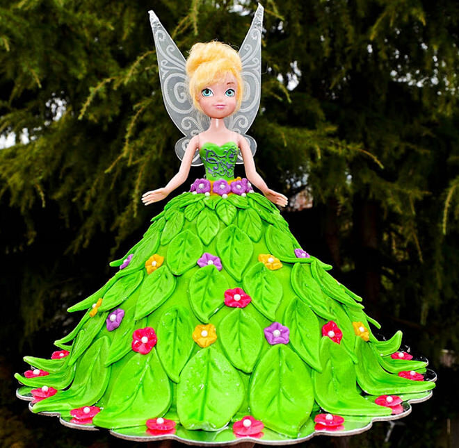 Fairy-Birthday-Cake-Tinkerbell