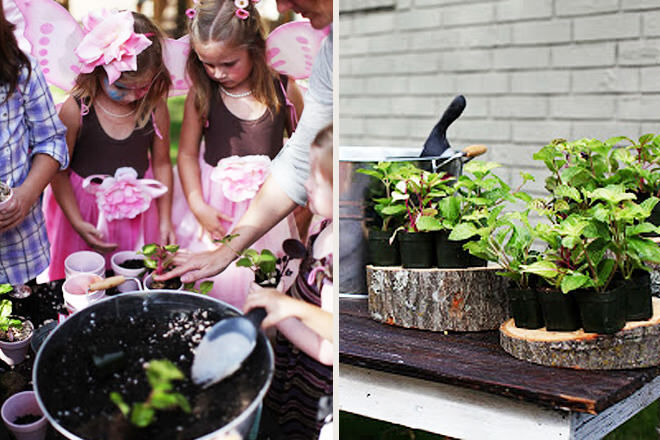 Fairy-party-gardening-game