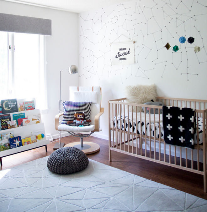 Jen Loves Kev. Ways to make your $99 IKEA Cot look like a million bucks.