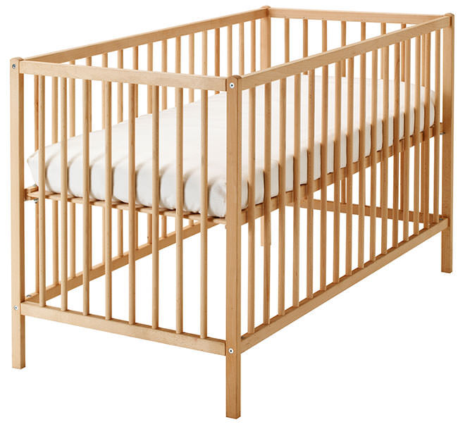 IKEA Sniglar Cot. How to make your $99 IKEA Cot look like a million bucks.