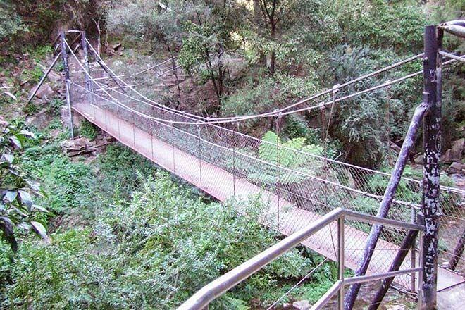 Jenolan-River-Walking-Track with a pram