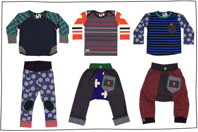 Oishi M AW 16 boys' pants t-shirts