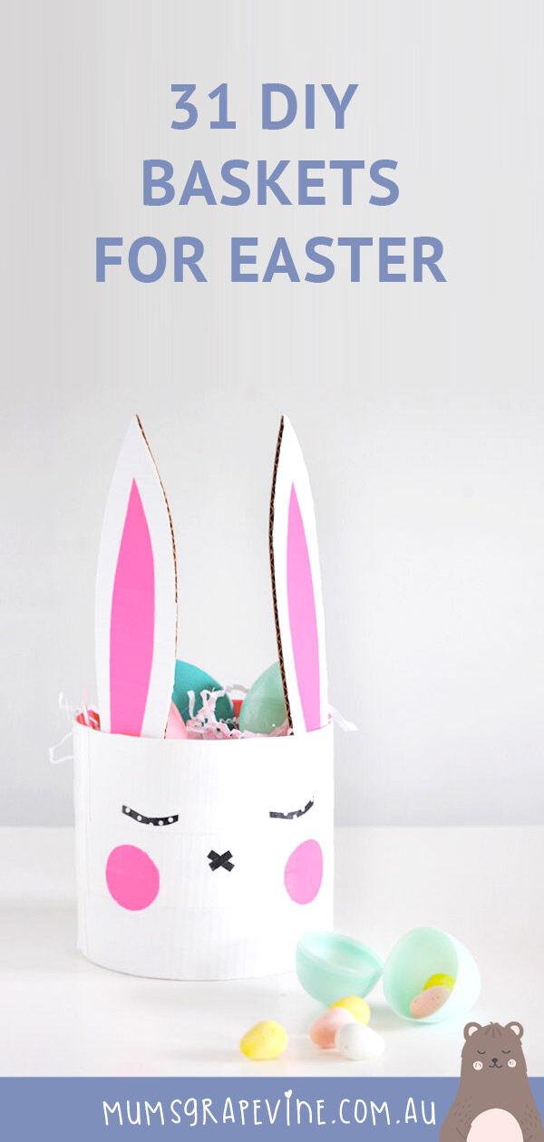31 DIY Easter baskets
