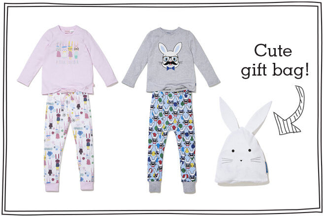 Peter Alexander Kids Easter pajamas