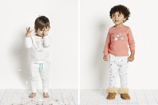 Purebaby Kids Easter pajamas