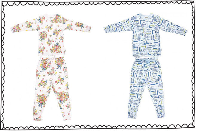 Toshi Kids Easter pajamas