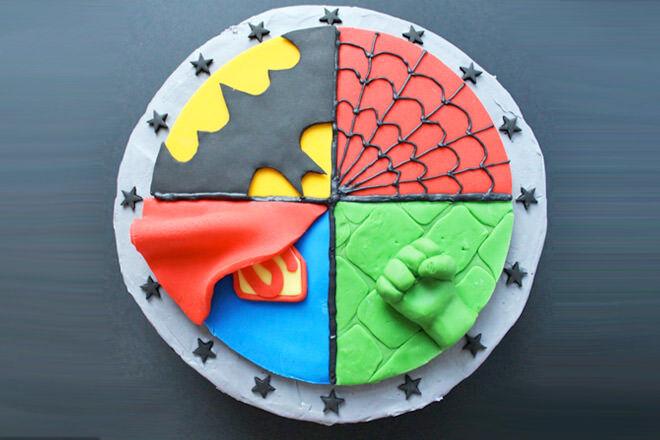 Our favourite superhero cakes
