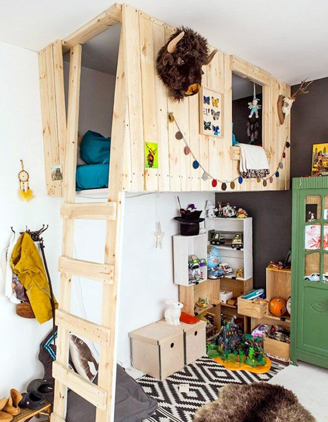 cool kids bunk bed. Fine Bed Tree House Loft Bed For Cool Kids Bunk Bed D