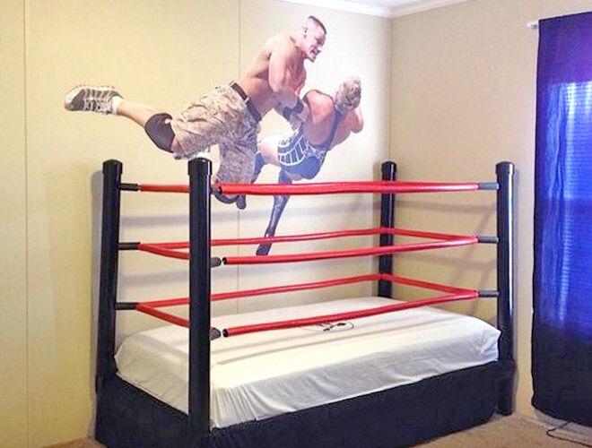 Wrestling bed