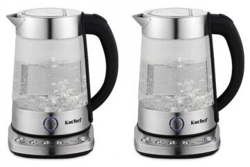 'Kuchef' Digital Glass Kettle