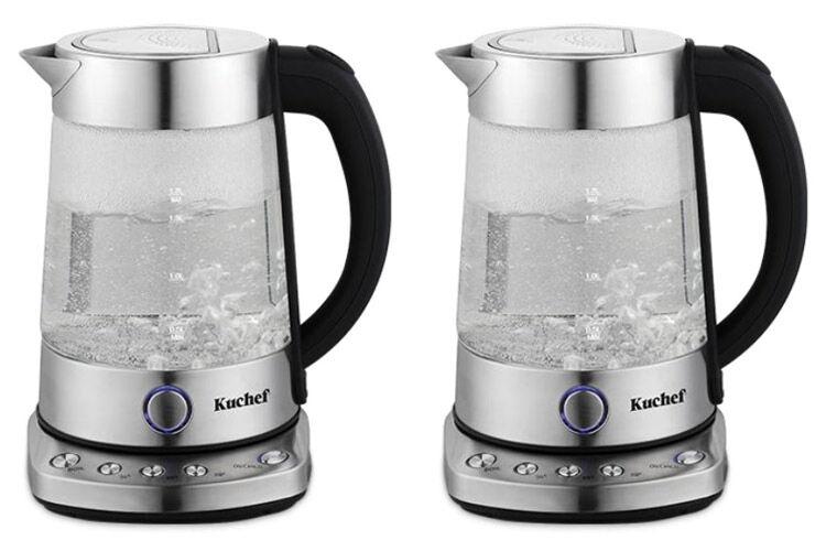 'Kuchef' Digital Glass Kettle