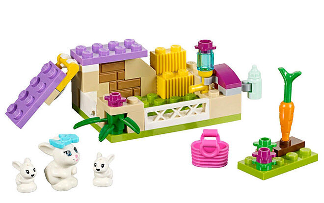 LEGO Friends Bunny & Babies set.