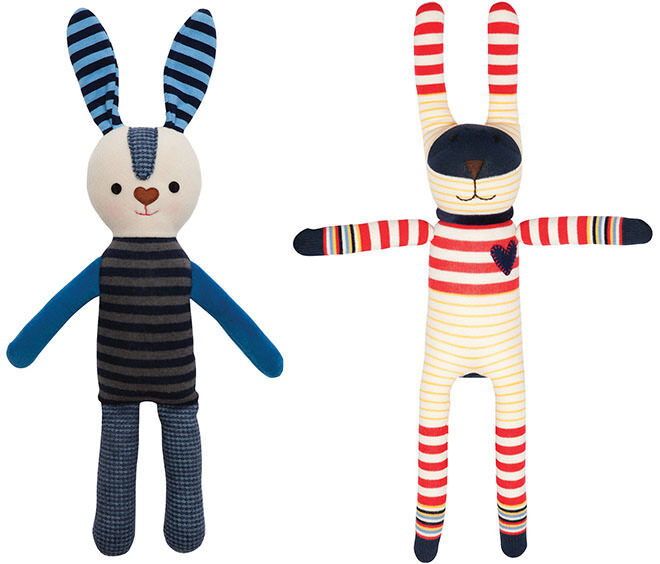 Micky & Stevie Bunny. Easter gifts with no chocolate.