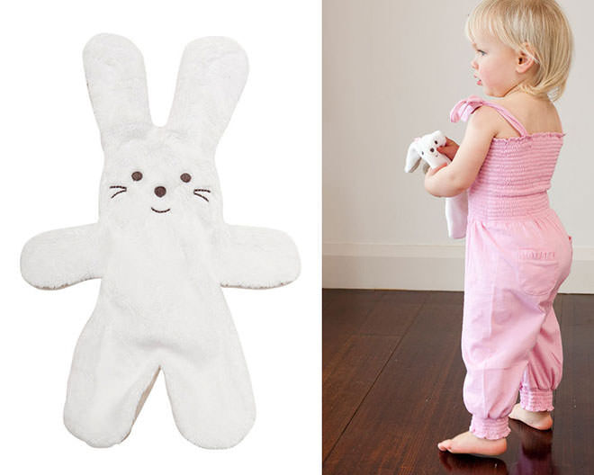 The ultimate choc free easter gift guide babu snuggie bunny comforter easter gifts with no added sugar negle Gallery