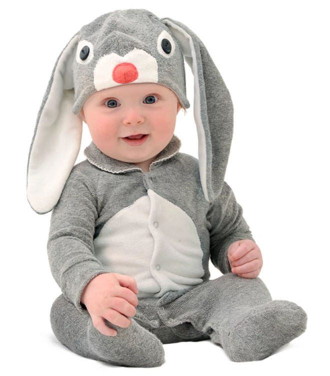 Easter Bunny Baby Dress up.