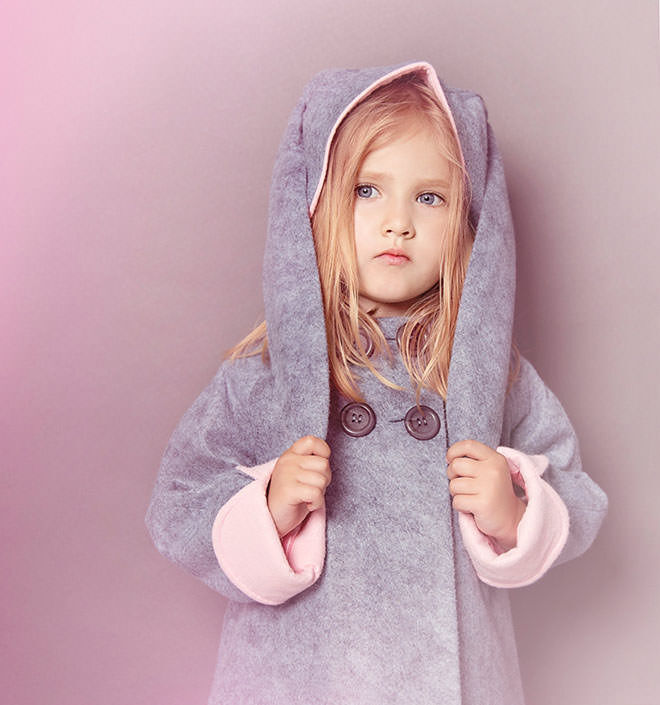 Bunny jacket from ETSY. Easter gifts with no added sugar.