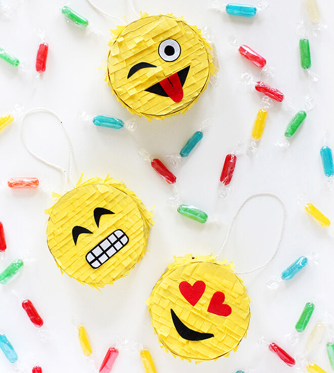 I Spy DIY - Emoji Pinata