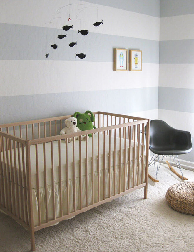 BabyFlock. How to make your $99 IKEA Cot look like a million bucks.