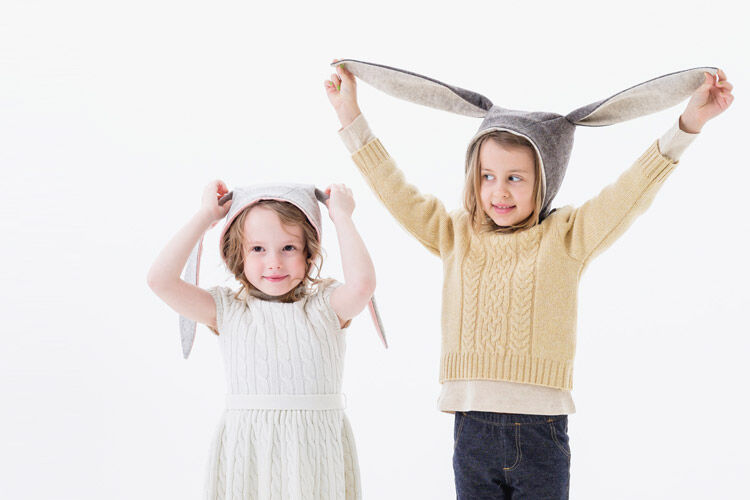 The ultimate choc free easter gift guide little goodall flopsy bunny bonnet hat negle Image collections