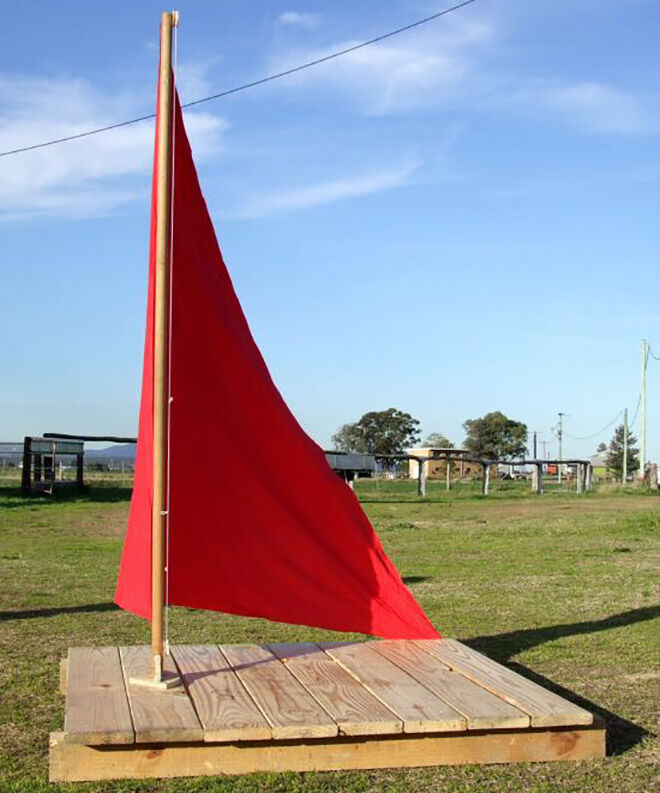 Palet Boat. Outdoor play ideas.