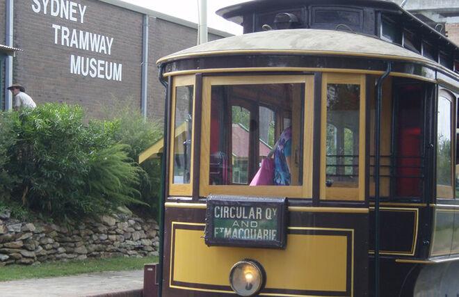 Sydney Tramway Museum Loftus