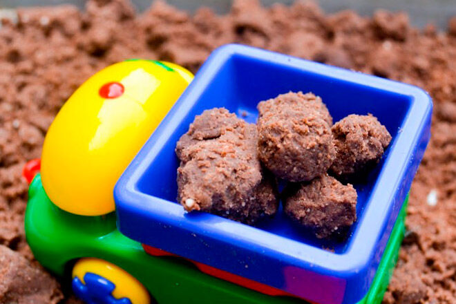 sensory play mud recipe