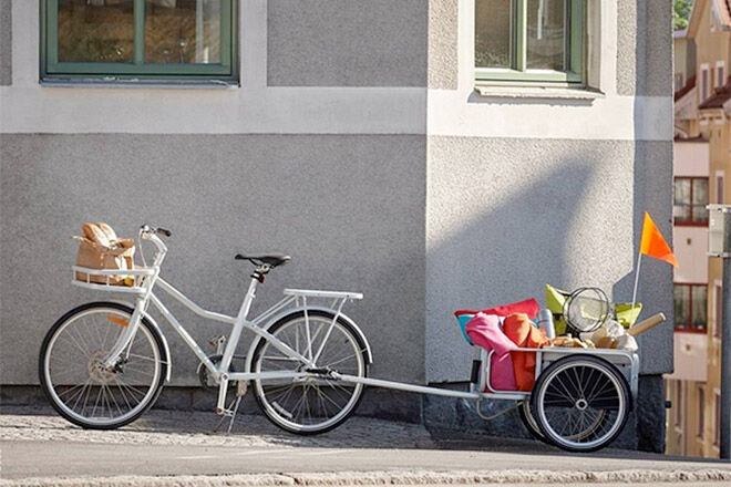SLADDA flat packed bike from IKEA