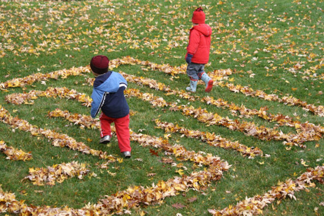 autumn kids activity