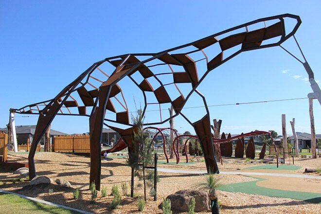 Megasaurus Playground Built For Junior Palaeontologists