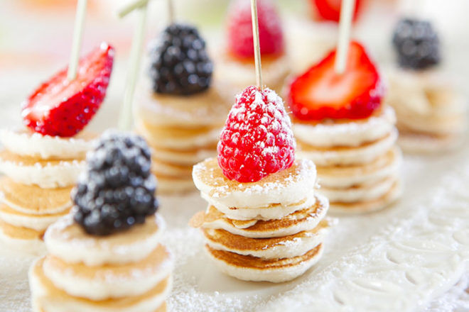 Mother's Day Breakfast Ideas: Easy pancake stacks