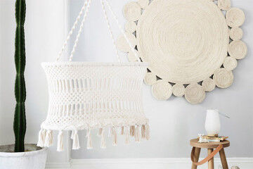 Macrame Bassinet from Olli Ella