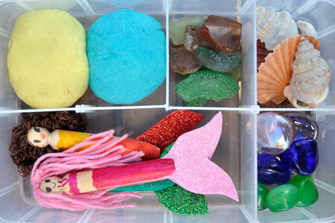 sensory play kit DIY