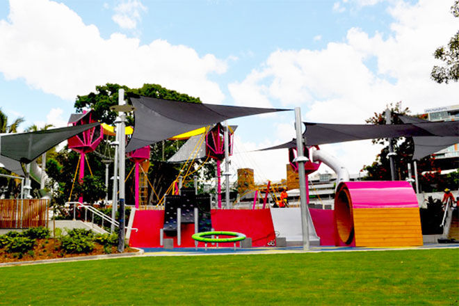 Riverside Green Playground South Bank Brisbane