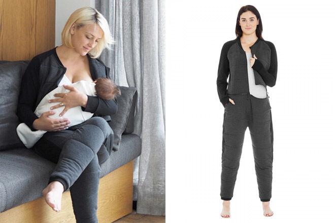 ergoPouch twosie breastfeeding sleep suit
