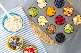 Kid-safe breakfasts they can make