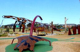 Melbourne Megasaurus playground for dinosaur lovers